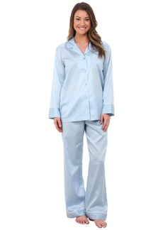 Natori Cotton Sateen Notch PJ