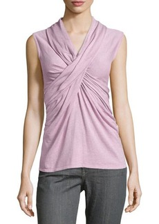 Natori Crisscross Sleeveless Knit Top  Crisscross Sleeveless Knit Top