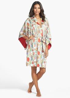 Natori 'Dynasty' Microsatin Short Robe