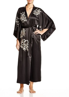 Natori Empress Embroidered Long Robe