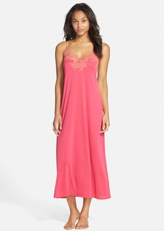 Natori 'Enchant' Lace Appliqué Knit Nightgown