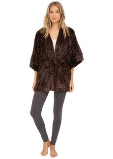 Natori Faux Fur Kimono