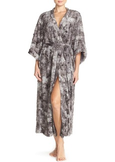 Natori Faux Fur Long Robe