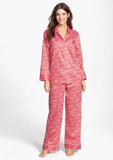 Natori 'Fleur' Cotton Sateen Pajamas