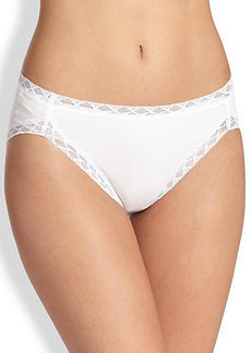 Natori Foundations Bliss Cotton French-Cut Bikini