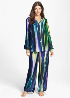 Natori 'Hayworth' Satin Georgette Pajamas