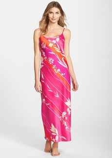 Natori 'Izabella' Long Satin Nightgown