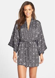 Natori 'Kago' Kimono Sleeve Robe