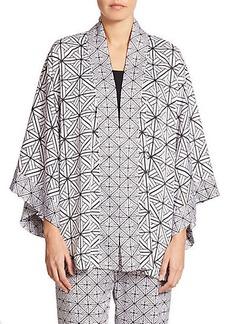 Natori Kago Printed Chiffon Wrap