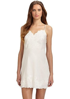 Natori Kasalan Embroidered Lace Chemise