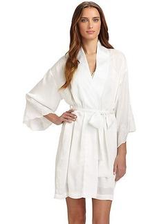 Natori Kasalan Lace-Trimmed Robe