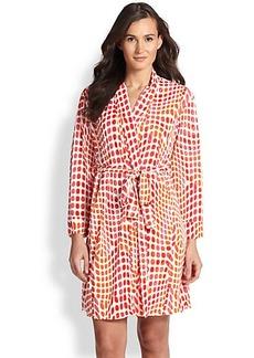 Natori Kismet Printed Short Robe