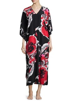 Natori Lana Drop-Sleeve Lounge Caftan