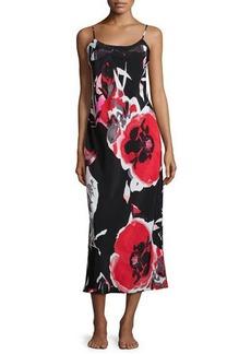 Natori Lana Floral-Print Jersey Gown