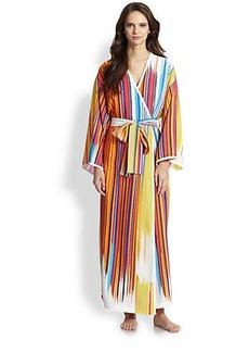 Natori Loren Striped Robe