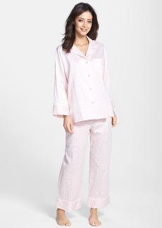 Natori 'Ming' Cotton Sateen Pajamas