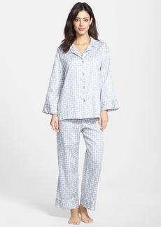 Natori 'Ming' Cotton Sateen Pajamas