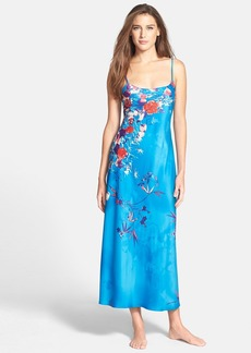 Natori 'Nadja' Long Satin Nightgown