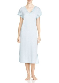 Natori Nightgown - Zen Floral Trimmed
