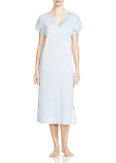 Natori Nightgown - Zen Floral Trimmed