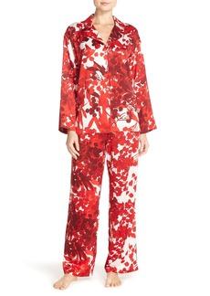 Natori Print Charmeuse Pajamas