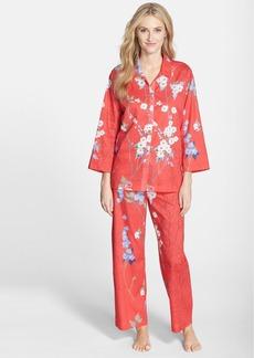 Natori 'Sakura' Print Cotton Voile Pajamas