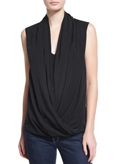 Natori Sleeveless Draped Top