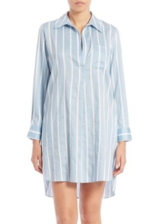 Natori Striped Sleepshirt