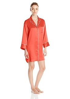 Natori Women's Solid Charmeuse Essential Sleepshirt