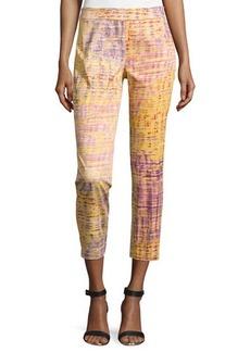 Natori Yari Printed Ankle Pants