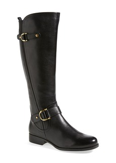 Naturalizer 'Jersey' Leather Riding Boot (Women)