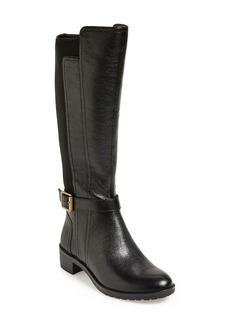 Naturalizer 'Mint' Leather Boot (Women)(Wide Calf)