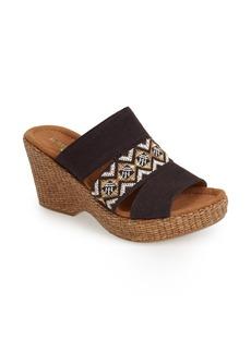 Naturalizer 'Opal' Wedge Sandal (Women)
