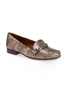 Naturalizer 'Radka' Snake Embossed Loafer (Women)