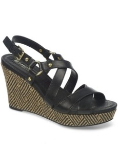 Naturalizer Robyn Platform Wedge Sandals Women's Shoes
