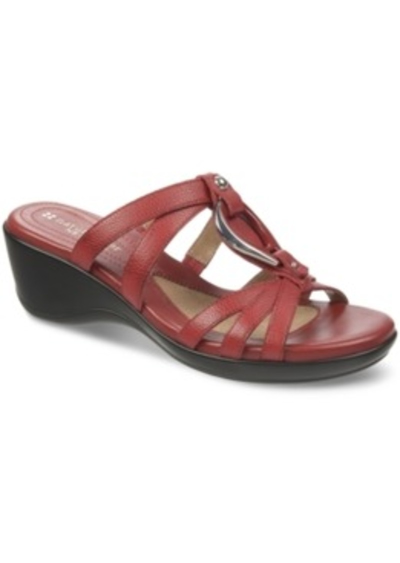 naturalizer naturalizer trance wedge sandals s shoes