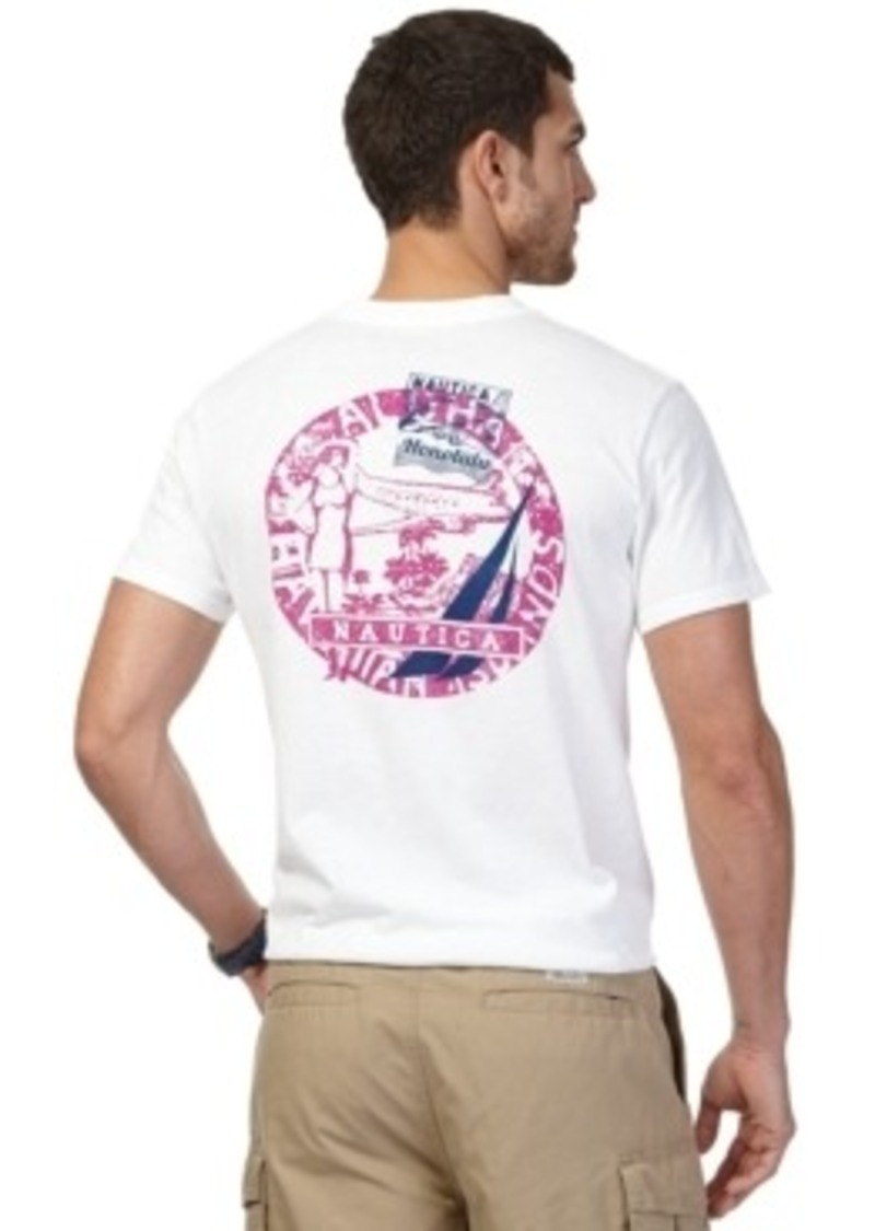 Nautica nautica big and tall airline stamp graphic t shirt for Xxl tall graphic t shirts