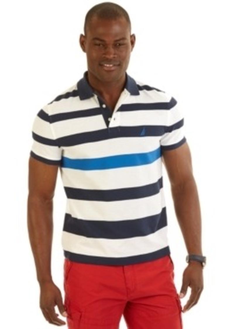 Nautica nautica big and tall engineered striped for Big and tall polo shirts on sale