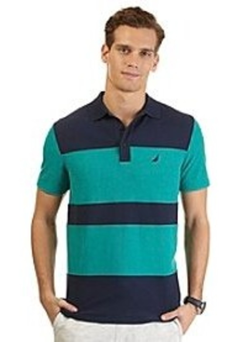 Nautica nautica men 39 s short sleeve heritage polo casual for Nautica shirts on sale