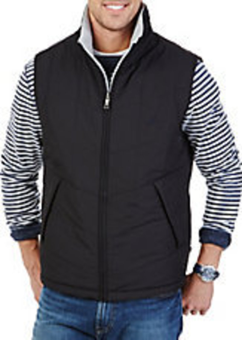 Nautica nautica reversible water resistant vest casual for Nautica shirts on sale