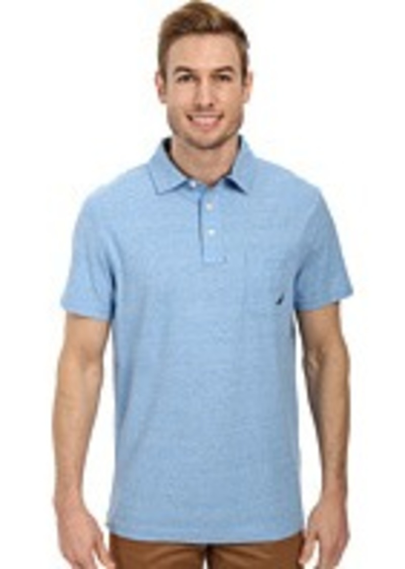 Nautica nautica short sleeve solid polo casual shirts for Nautica shirts on sale