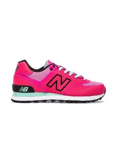 New Balance Woven Sneaker in Pink