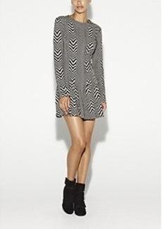 Amber Herringbone Dress