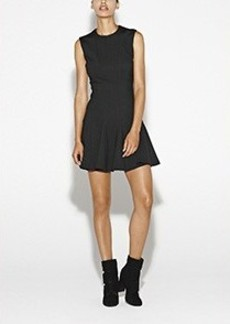 Amber Sleeveless Ponte Dress