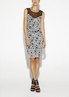 Amy Stretch Lace Dress