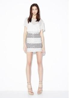 Animal Sequin Skirt