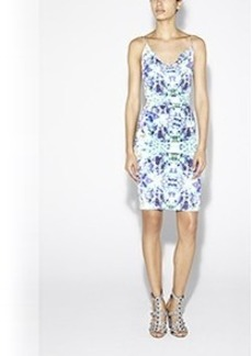 Carly Water Lily Cotton Metal Dress