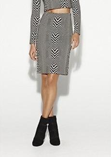 Carter Herringbone Skirt