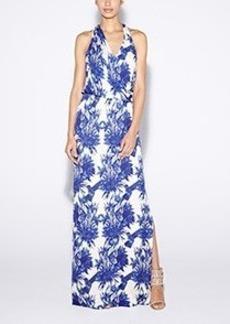 Chinoiserie Maxi Dress