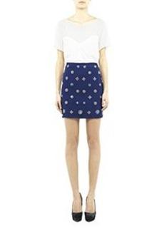 Cluster Mini Skirt